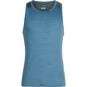 Icebreaker Amplify Tank Herre thunder/panther heather